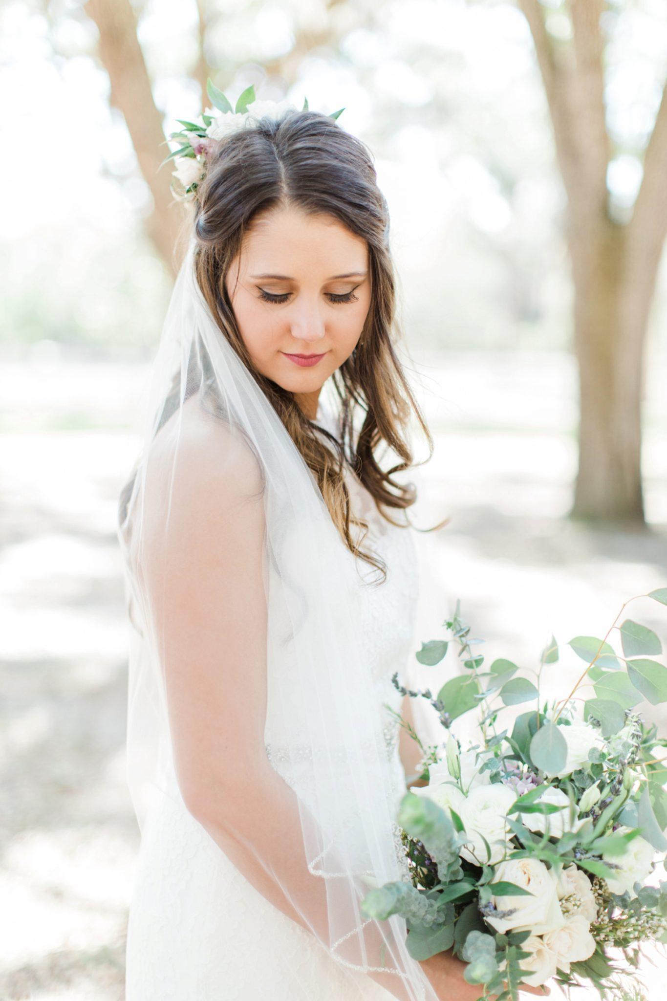 Lance and Meredith Whimsical Chandler Oaks Barn Wedding | St. Augustine, Florida-bridal portraits