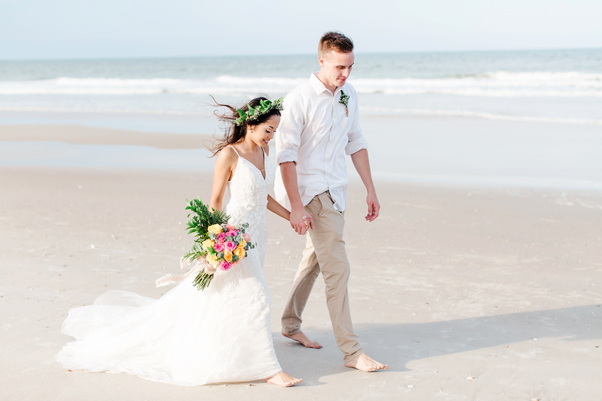 Natalie Broach Photography-Beach Wedding | St Augustine Beach, Florida Wedding | Florida Wedding Photographer | Destination Wedding