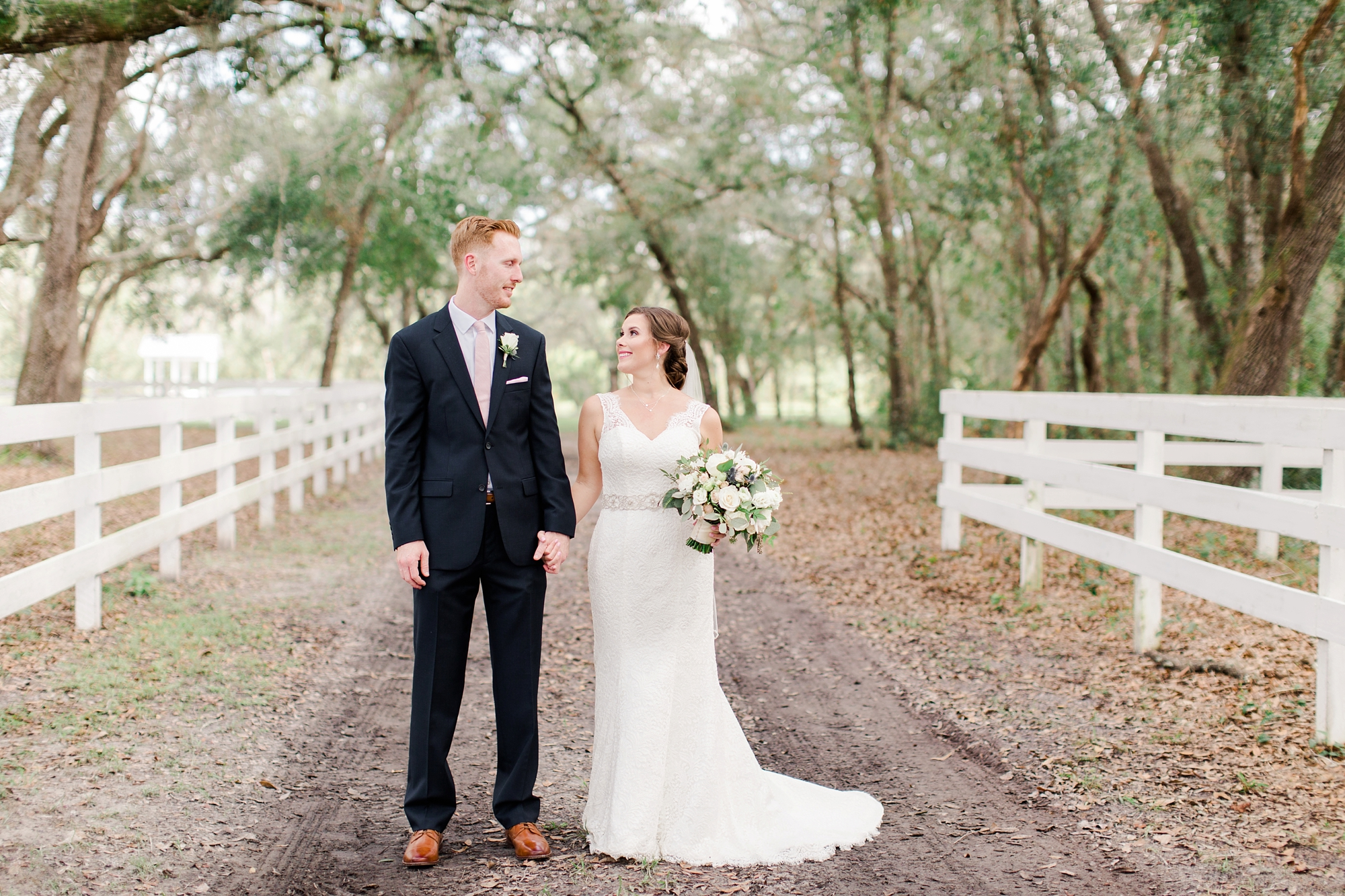 Natalie Broach Photography Meagan & Adam Wedding | Chandler Oaks Barn Jacksonville Florida . October Wedding | North Florida Wedding Photographer
