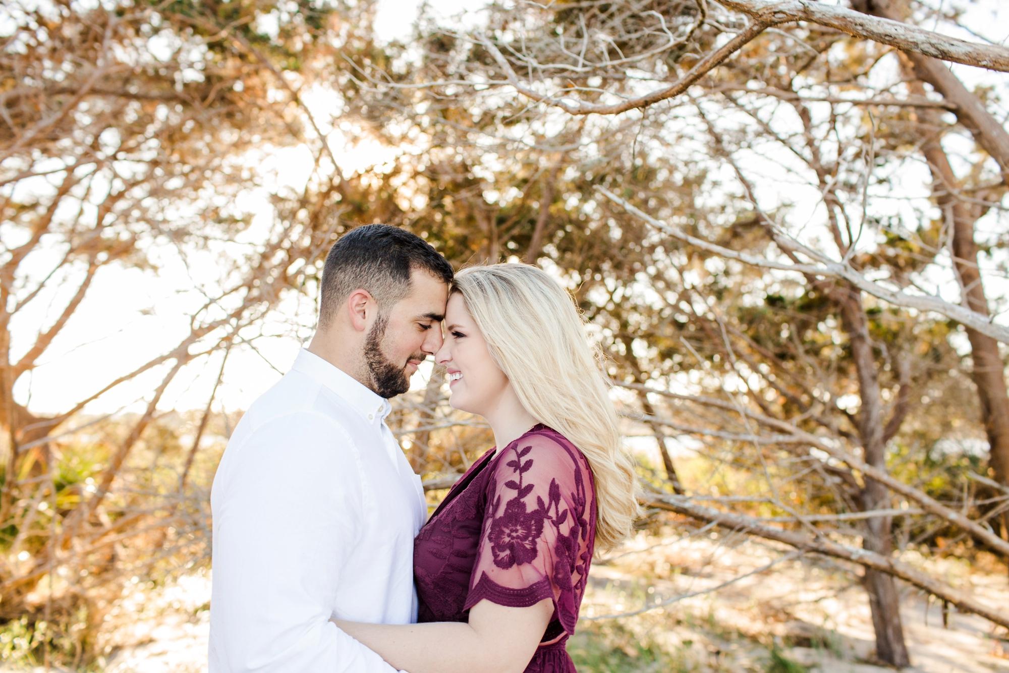 Natalie Broach Photography-Steven & Lauren Engagement Session, Big Talbot Island. Jacksonville Florida