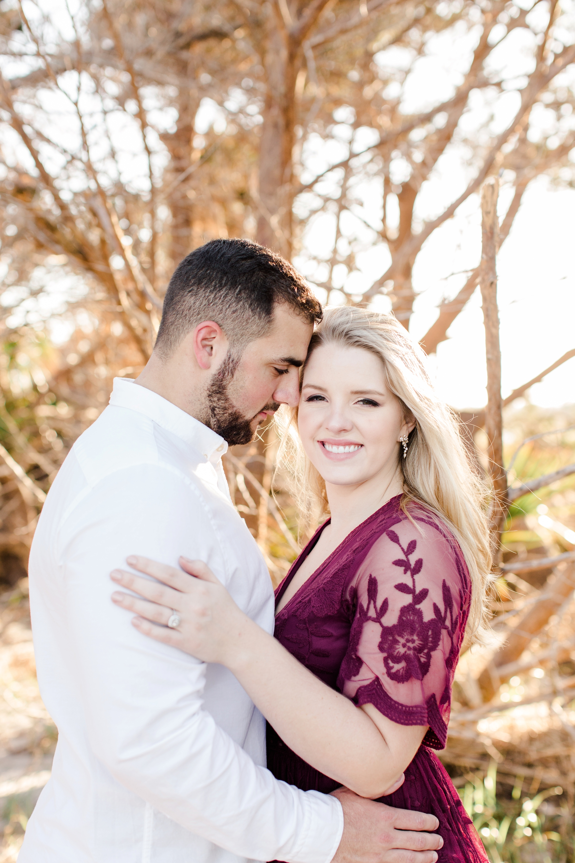 Natalie Broach Photography-Steven & Lauren Engagement Session, Big Talbot Island. Jacksonville Florida