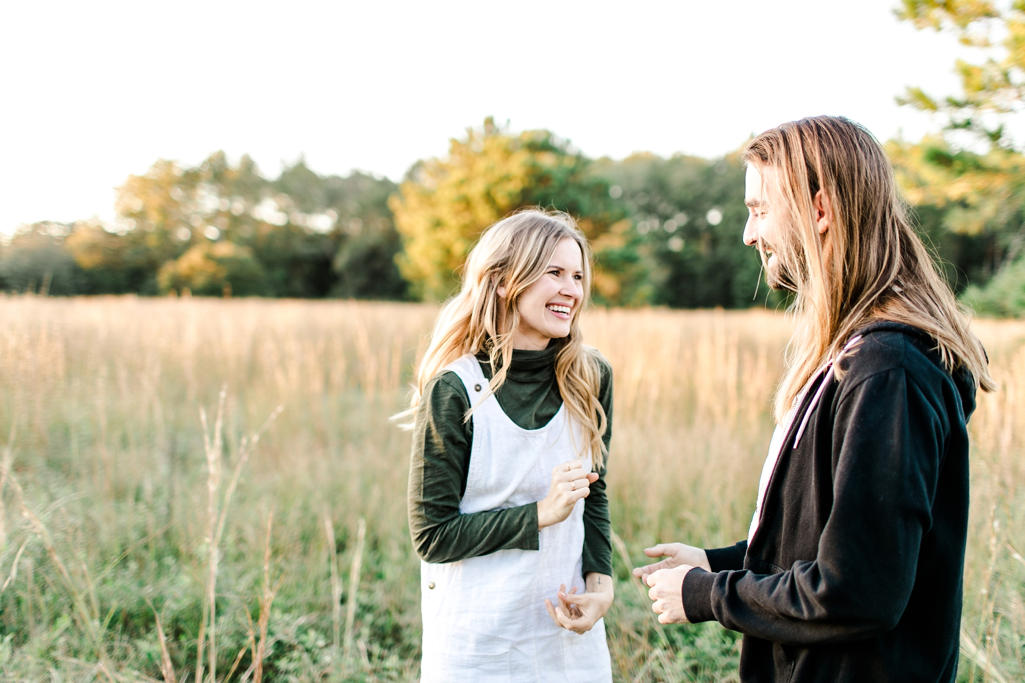 Natalie Broach Photography | Sean and Megan Jacksonville, Florida Engagement Session | Fall Engagement Photoshoot