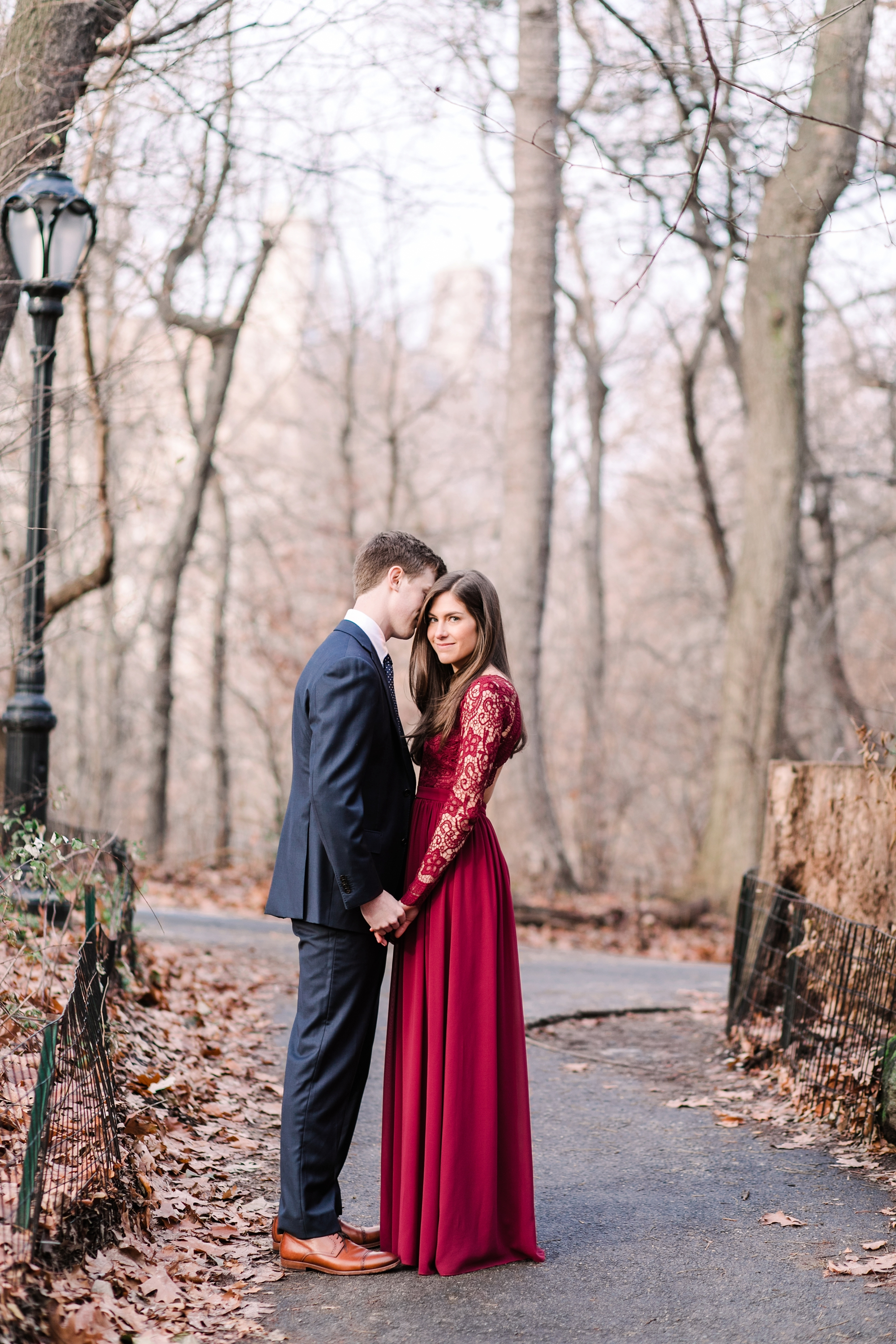 Natalie Broach Photography New York City Engagement Session | Central Park Engagement Session | Destination Photographer | New York Wedding Photographer | Central Park Photoshoot | New York Winter Photoshoot