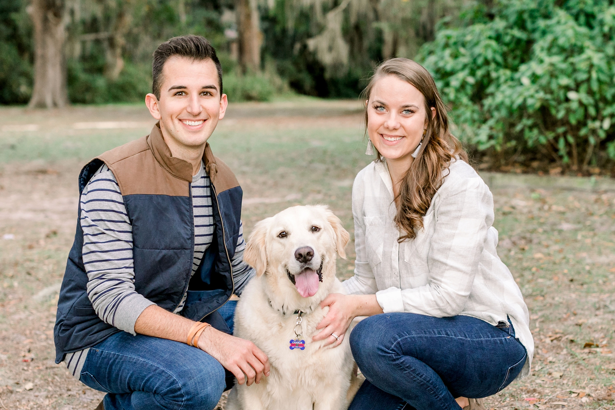 Natalie Broach Photography | Jacksonville Lifestyle Photography | Family photoshoot with pet | Couple Photoshoot