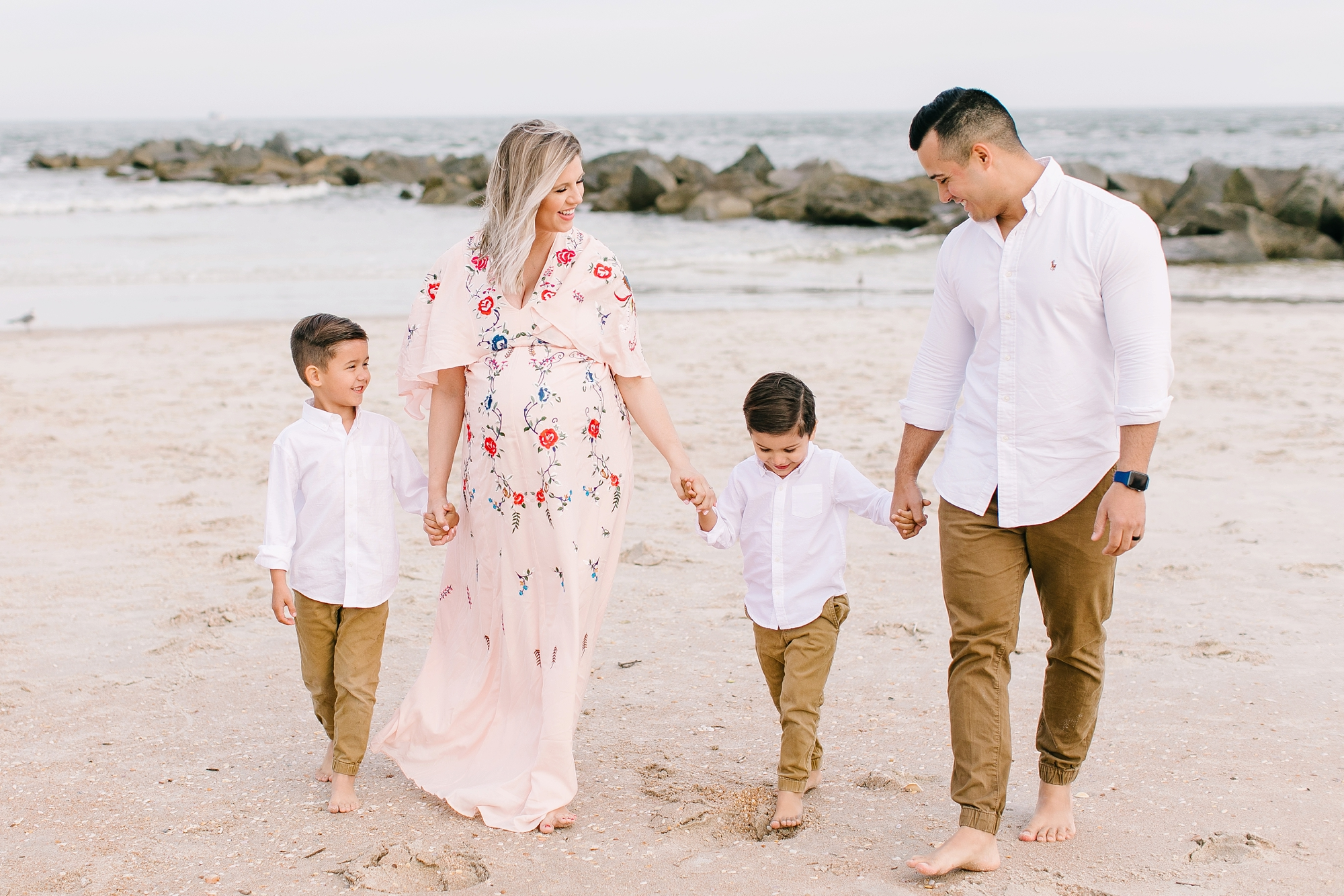 Natalie Broach Photography Maternity Session-Vilano Beach Maternity Session | Jacksonville Lifestyle Photographer | St. Augustine Beach Photographer