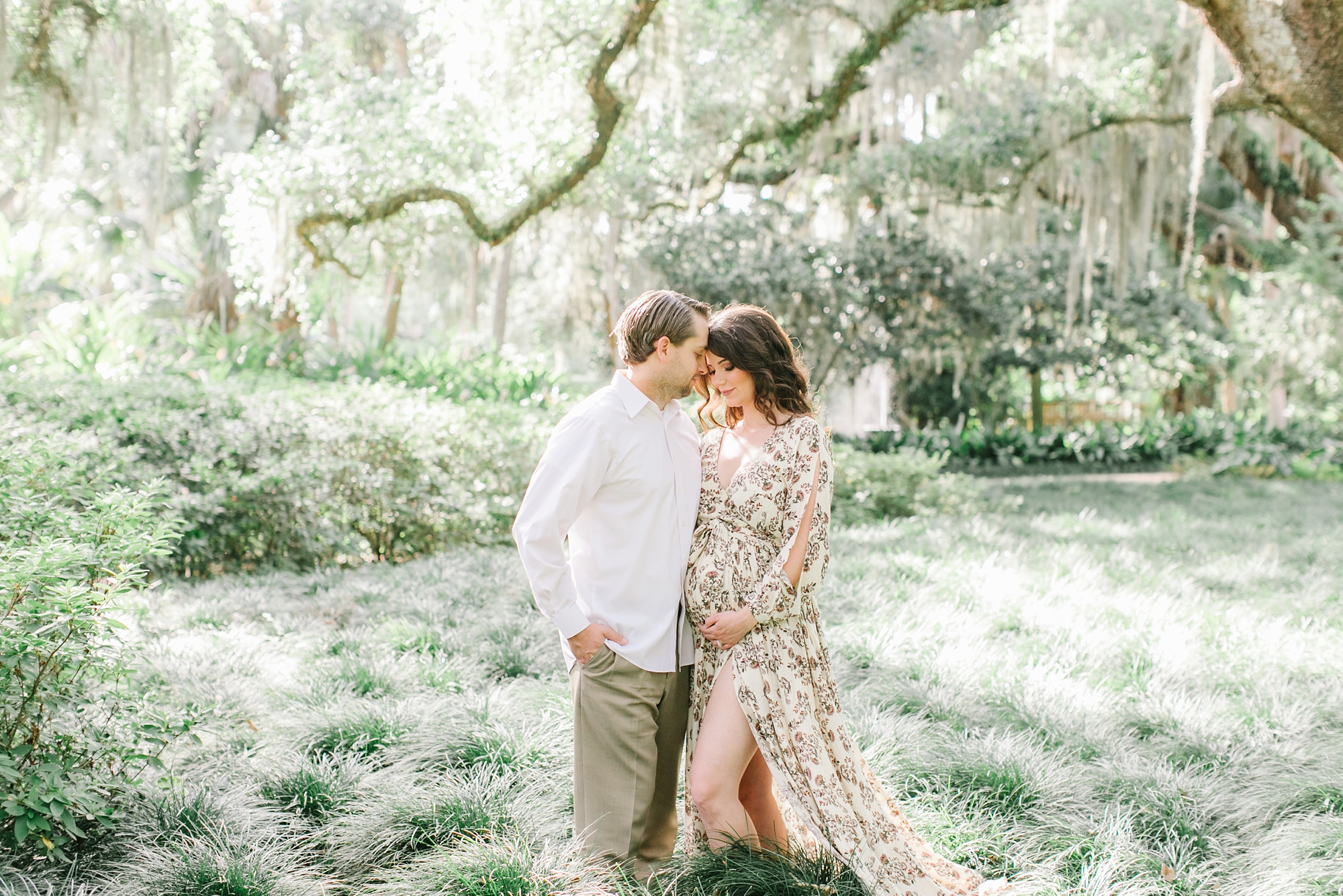 Natalie Broach Photography| Jacksonville Maternity Session | Washington Oaks State Park, Palm Coast| North Florida Lifestyle Maternity | Kristy and Travis Maternity Session